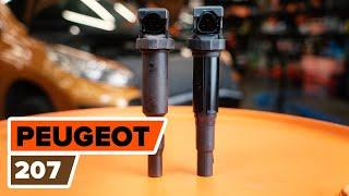 Skifte Reparasjonssett, støtte / styreledd PEUGEOT 207: verkstedhåndbok