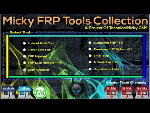 Top 10 FRP Tools In One Pack | Micky FRP Tools Collection 2017
