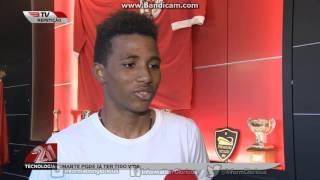Gedson Fernandes renovou contrato com o SL Benfica até 2022