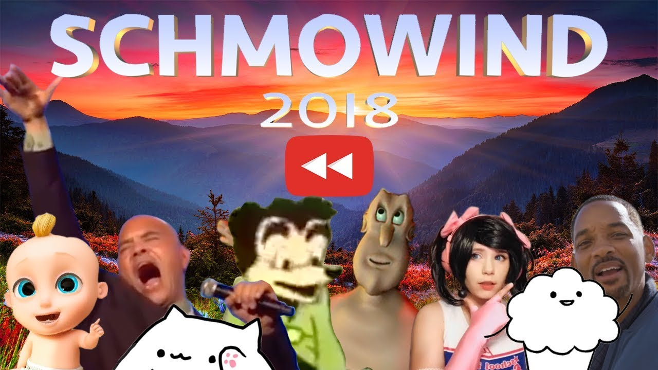 Youtube Rewind 2018 But Memes So A Waterfall Of Memories Washes