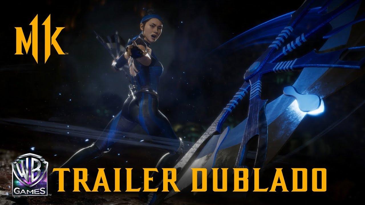 Mortal Kombat 11 – Kitana (Trailer de Revelação Dublado PT-BR)