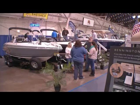 Fairgrounds Holds Central New York Boat Show (February 2016)