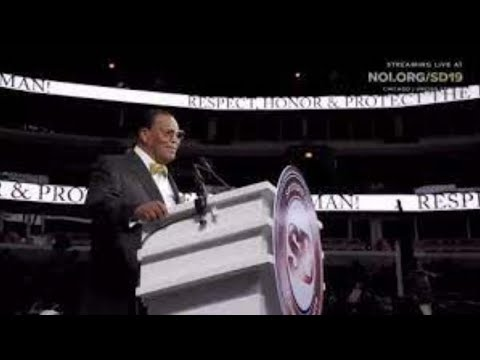 Police Ordered to Pay Nation of Islam $130K for Blocking Louis Farrakhan Reparations Speech