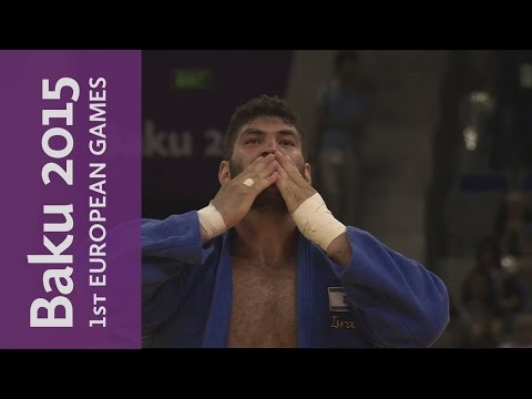 Huge Ippon win for Or Sasson | Judo | Baku 2015 European Games