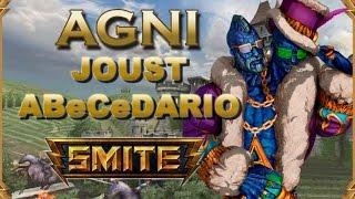 SMITE! Agni, El comienzo de algo muy peligroso! Joust Abecedario #1