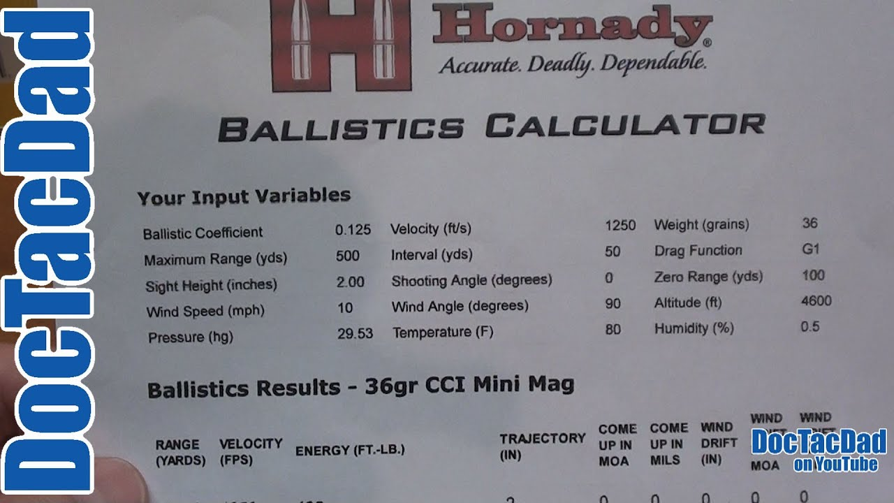 Long Range Ballistics Calculator and App