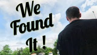STOLEN MOTORCYCLE IS FOUND!