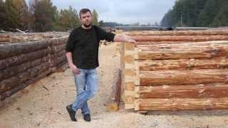 Сруб в лапу. Выбираем тип углового соединения деревянного дома. Рубка в лапу.