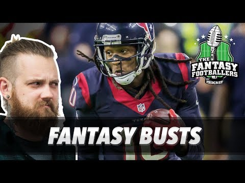 """Fantasy Football 2017 - Busts + NOT """"My Guys"""" - Ep. #422"""
