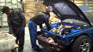 プライベーター R33 GT-R エンジンオーバーホール