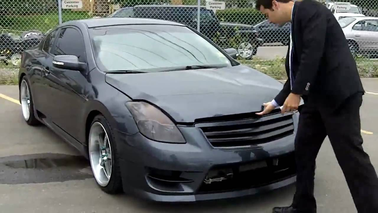 Nissan Altima Coupe 3 5 Twin 10 Quot Subs Youtube