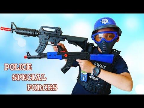 Children's Police Special Forces Toys Set  Детский полицейский спецназ набор игрушки