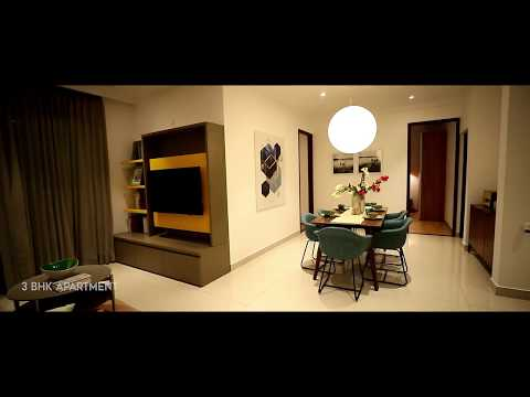 Brigade Cornerstone Utopia | Whitefield | Brigade Group | Spacious 3 BHK Apartment | Interior Design