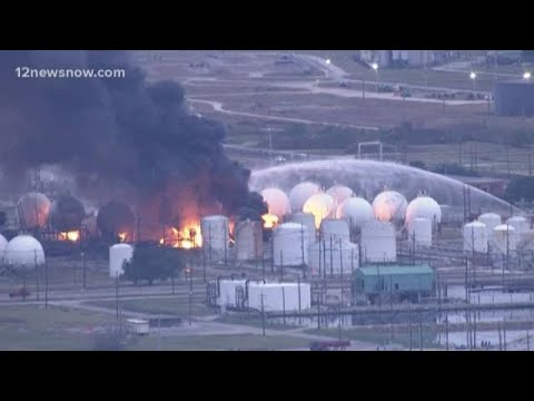 Download TPC Group plant fire still burning in Port Neches nearly 30 hours after explosion