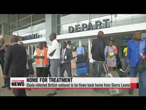 Ebola-infected British national to be flown back home from Sierra Leone   코트디부아르