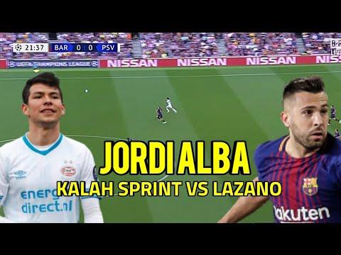 BOOM ‼️ JORDI ALBA VS HIRVING LOZANO ADU SPRINT GILA