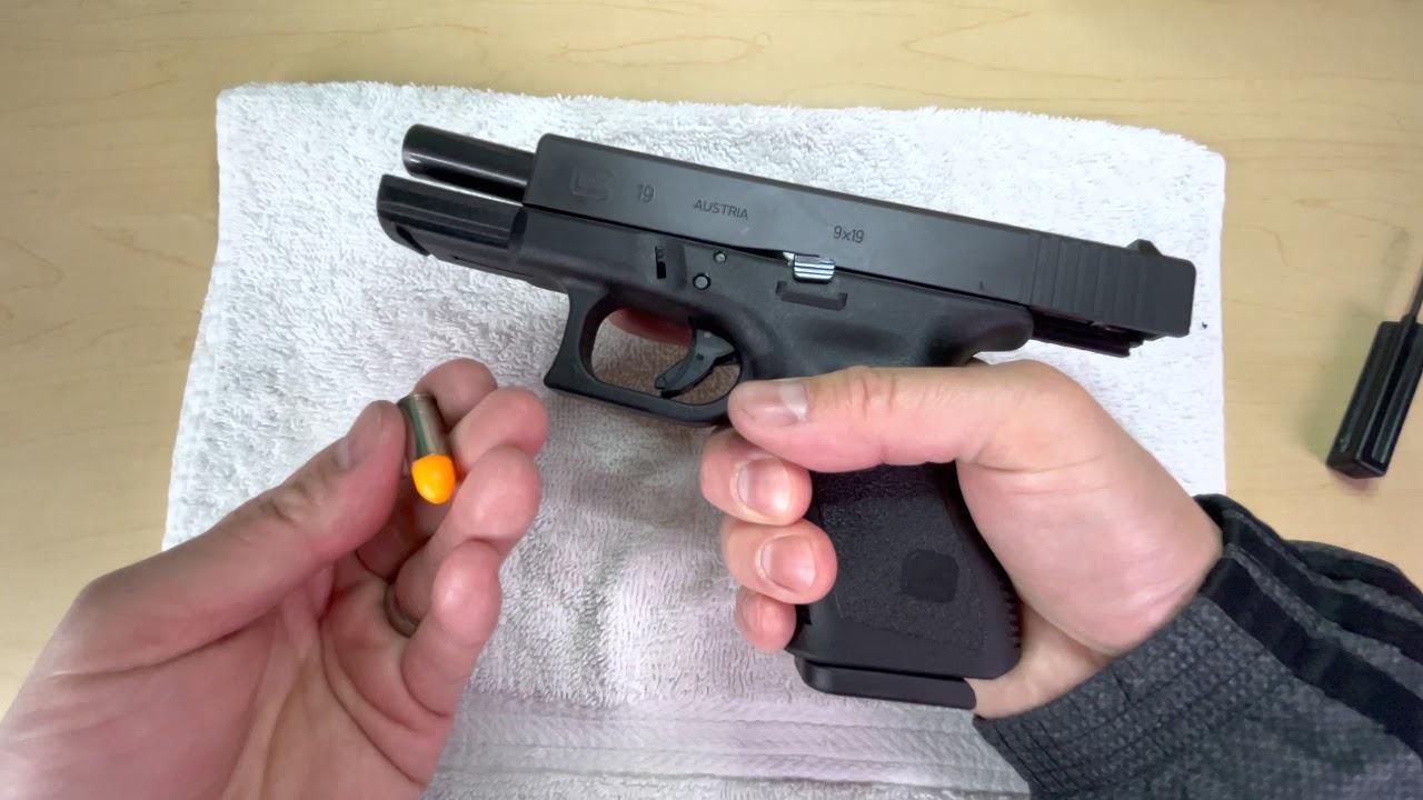 半自動手槍標準彈匣清理保養【陀槍食神】