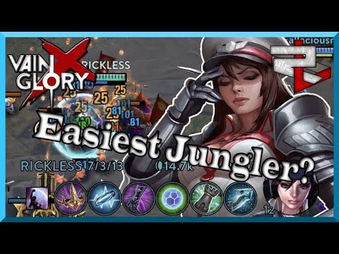 Catherine Is The Easiest Jungler! Vainglory 5v5