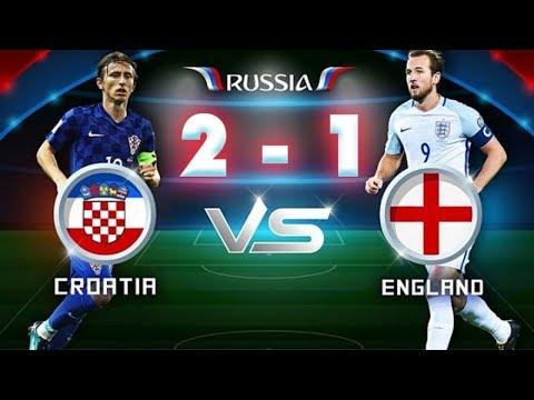 Highlight World Cup 2018 | Croatia vs Anh 2-1 | Trận Bán Kết Thứ 2