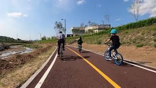 옥정공원 자전거도로 한바퀴 고프로8 원본 영상