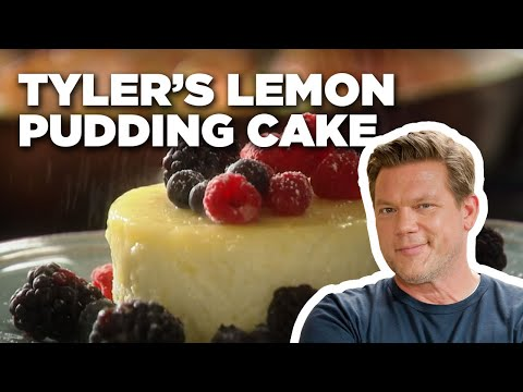 How To Make Tyler's Lemon Pudding Cake | Food Network