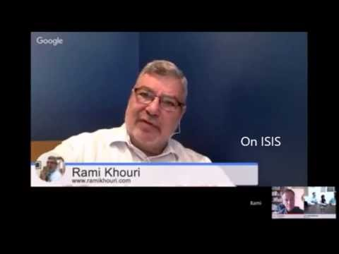 Prof. Rami Khouri on ISIS & the Arab world