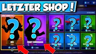 ❌FUNKY KOMMANDO & REX SKIN in SHOP!! 😱 - NEW OBJECT SHOP in FORTNITE is DA!!