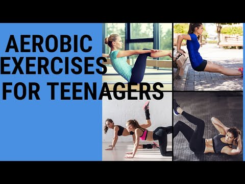 Aerobic exercise for teenagers | Simple aerobics for teens | lose weight fast | lose belly fat