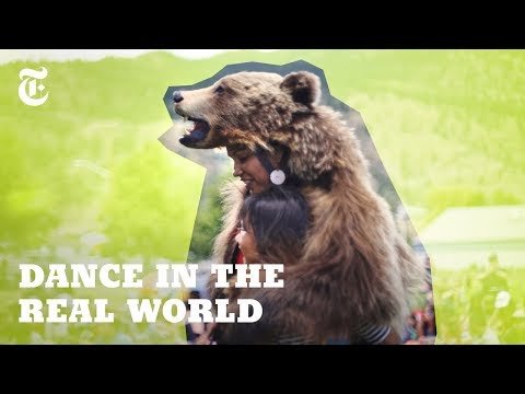 Dance in British Columbia: Evoking the Wild Grizzly Bear's Spirit