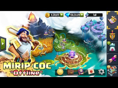 GAME ANDROID MIRIP C.O.C TAPI OFFLINE - CUMA 95Mb Apk Only - 동영상