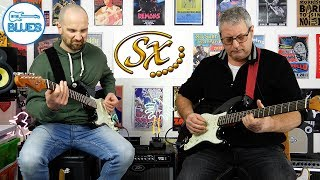 Shane & Alex - Jamming and Discussing SX Electric Guitars