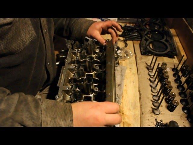 Фото к видео: капремонт Nissan X-Trail, T30, QR25DE