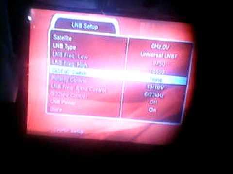 como configurar los decos de CLARO TV  para el satelite hispasat