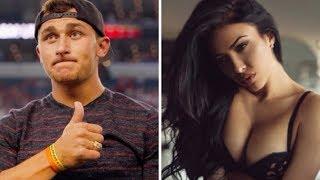 Johnny Manziel Secretly Gets Married To SUPER Hot Model Bre Tiesi