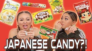 Trying Japanese Candy Part 2 | Yes Hipolito & Roxette Arisa