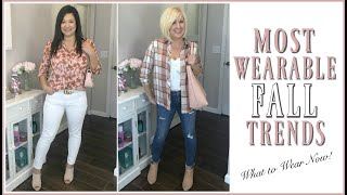 Top Wearable Fall Trends 2019 | How to Style Fall Trend Outfit Ideas