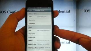 PREPAID SECRETS: iPhone 5 Tmobile Data MMS Configuration APN Settings No Jailbreak