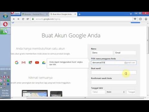 Cara Mendaftar Akun Google Email Tanpa Verifikasi Nomor Telepon