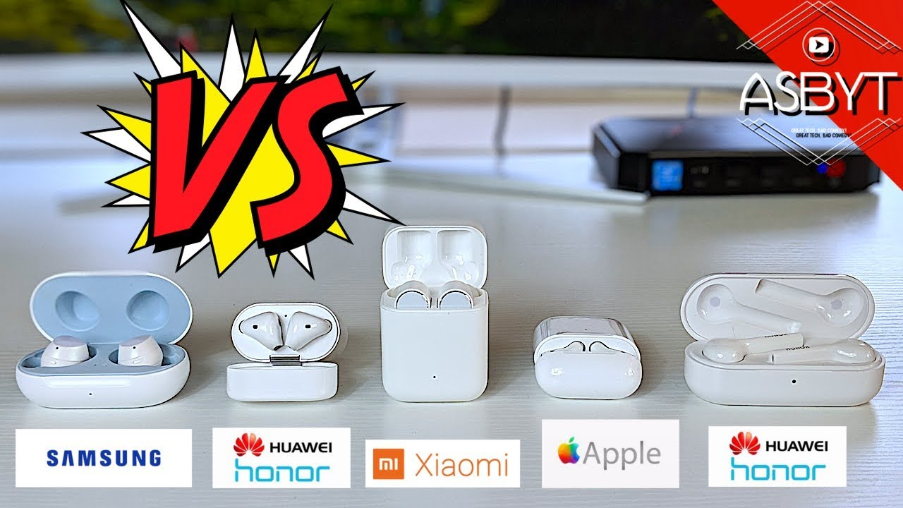 Galaxy Buds vs Airpods 2 v Xiaomi AirDots Pro v Huawei Honor Flypods | Best Wireless Earphones 2019?