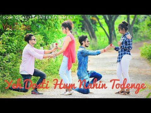 Yeh Dosti Hum Nahi Todenge | Yeara teri yeari | Unplugged Cover- Rahul Jain