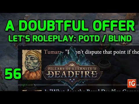 Let's Roleplay Pillars of Eternity 2: Deadfire - Tumara's Quest (Path of the Damned Let's Play) #56 |