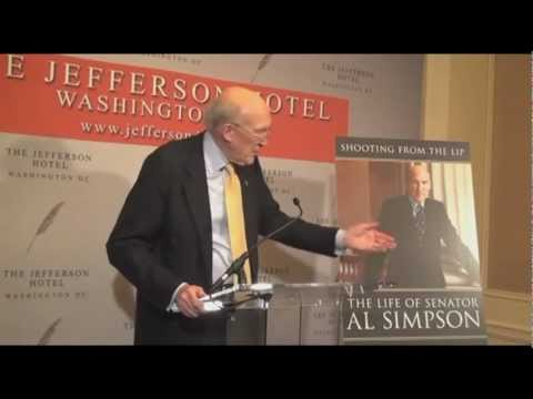 Shooting from the Lip: The Life of Senator Al Simpson by Don Hardy
