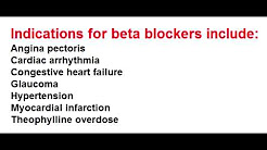 Beta Blockers - Clinical Use, Side Effects & Selectivity