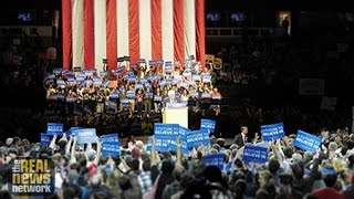 Thousands Rally for Sanders Ahead of Critical Wisconsin Primary