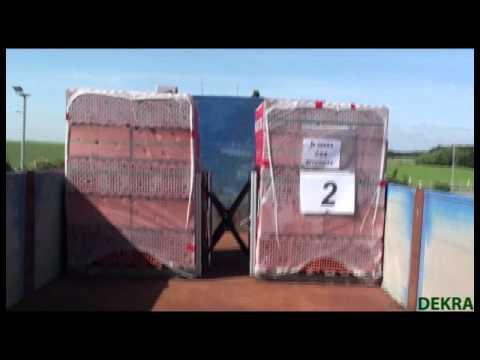 """Cargo Safety System / Das Ladungssicherungs-System """"GapMaxx 800"""""""