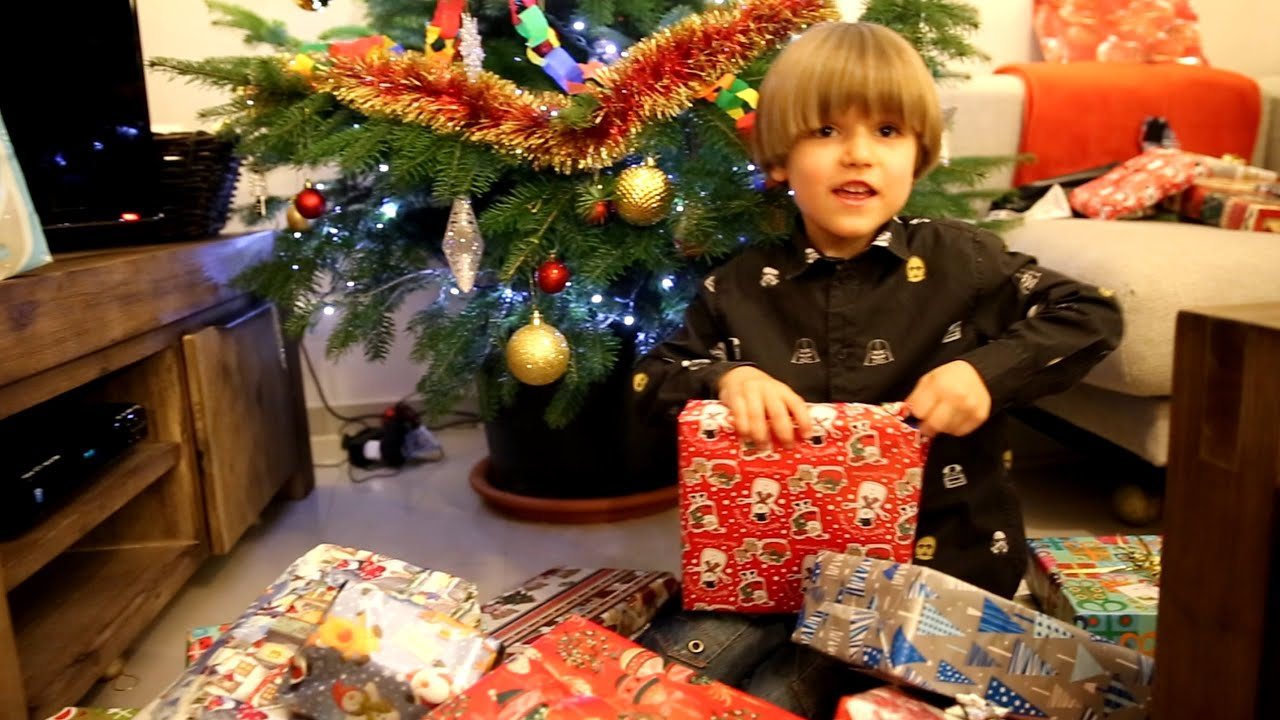 Opening Christmas Presents Cool Toys Youtube