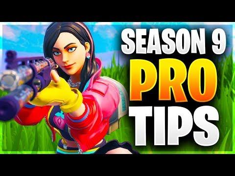SEASON 9 PRO TIPS! Ultimate Guide To Mastering Season 9! (Fortnite Battle Royale)