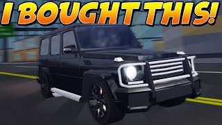 THIS G-WAGON SUV is a SUPER CAR KILLER! *Best Budget Car!* (Roblox Full-Throttle)