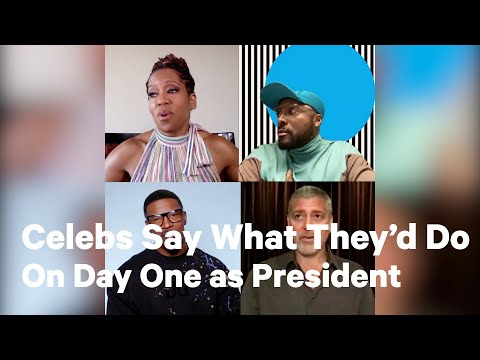 Celebs on What They Would Do if They Were Elected President | NowThis