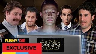 Hollywood Reacts to Star Wars The Force Awakens Trailer